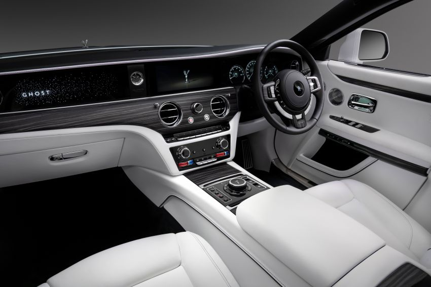 2021 Rolls-Royce Ghost unveiled – new aluminium architecture shared with Phantom, 563 hp 6.75L V12 Image #1169744