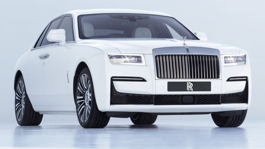 2021 Rolls-Royce Ghost unveiled – new aluminium architecture shared with Phantom, 563 hp 6.75L V12 Image #1169738