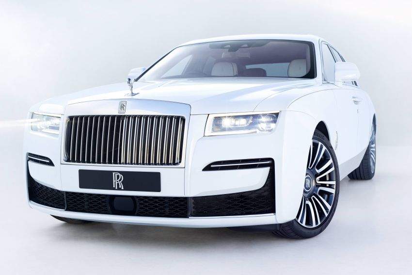 2021 Rolls-Royce Ghost unveiled – new aluminium architecture shared with Phantom, 563 hp 6.75L V12 Image #1169996