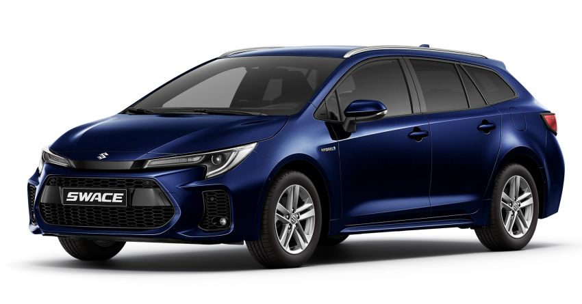 2021 Suzuki Swace launched in Europe – rebadged Toyota Corolla Touring Sports with 1.8L hybrid engine Image #1178117