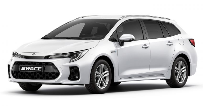 2021 Suzuki Swace launched in Europe – rebadged Toyota Corolla Touring Sports with 1.8L hybrid engine Image #1178118