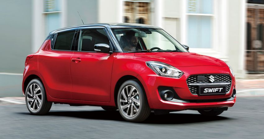 2021 Suzuki Swift facelift debuts in the UK – 1.2 Dualjet hybrid now standard, better equipment and safety Image #1174139
