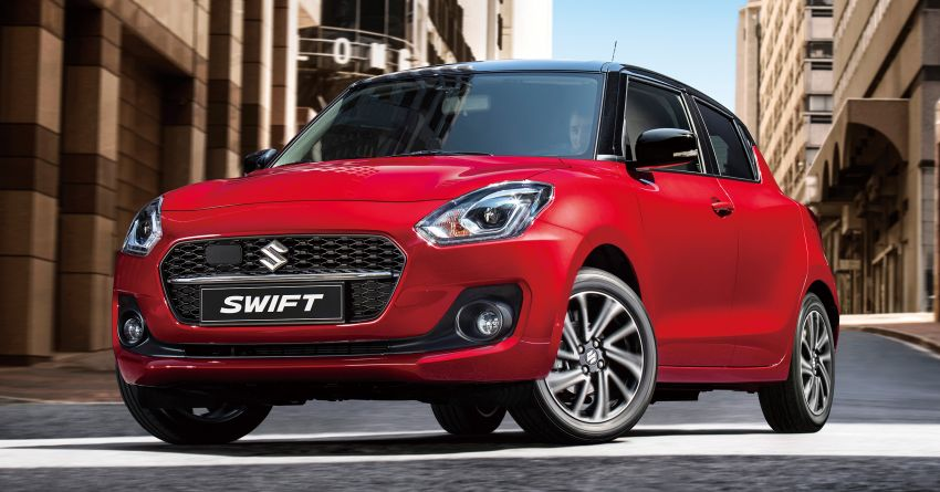 2021 Suzuki Swift facelift debuts in the UK – 1.2 Dualjet hybrid now standard, better equipment and safety Image #1174142