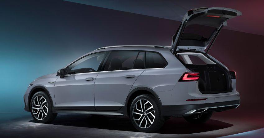 Volkswagen Golf Estate, Alltrack 2021 diperkenal – jarak roda lebih panjang, ruang dalam dan but besar Image #1173641