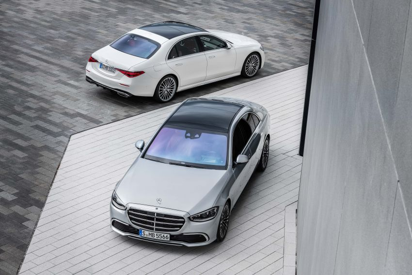 2021 Mercedes-Benz S-Class revealed – W223 to get certified Level 3 semi-autonomous driving next year Image #1170138