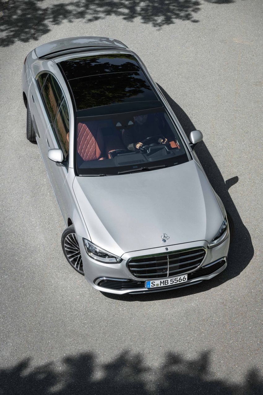 2021 Mercedes-Benz S-Class revealed – W223 to get certified Level 3 semi-autonomous driving next year Image #1170139