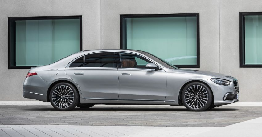 2021 Mercedes-Benz S-Class revealed – W223 to get certified Level 3 semi-autonomous driving next year Image #1170127