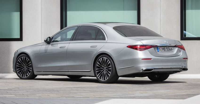 2021 Mercedes-Benz S-Class revealed – W223 to get certified Level 3 semi-autonomous driving next year Image #1170128