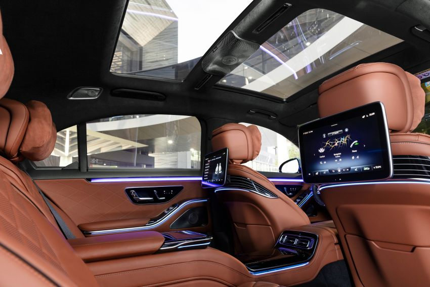 2021 Mercedes-Benz S-Class revealed – W223 to get certified Level 3 semi-autonomous driving next year Image #1170147