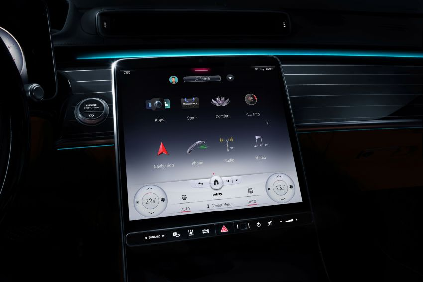 2021 Mercedes-Benz S-Class revealed – W223 to get certified Level 3 semi-autonomous driving next year Image #1170498