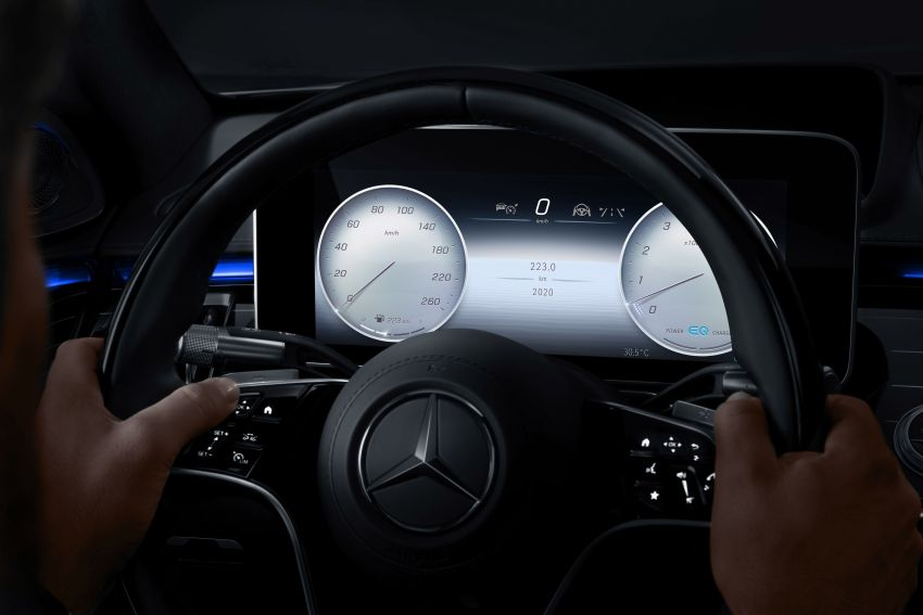 2021 Mercedes-Benz S-Class revealed – W223 to get certified Level 3 semi-autonomous driving next year Image #1170505