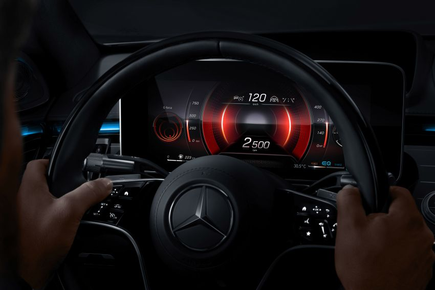 2021 Mercedes-Benz S-Class revealed – W223 to get certified Level 3 semi-autonomous driving next year Image #1170507