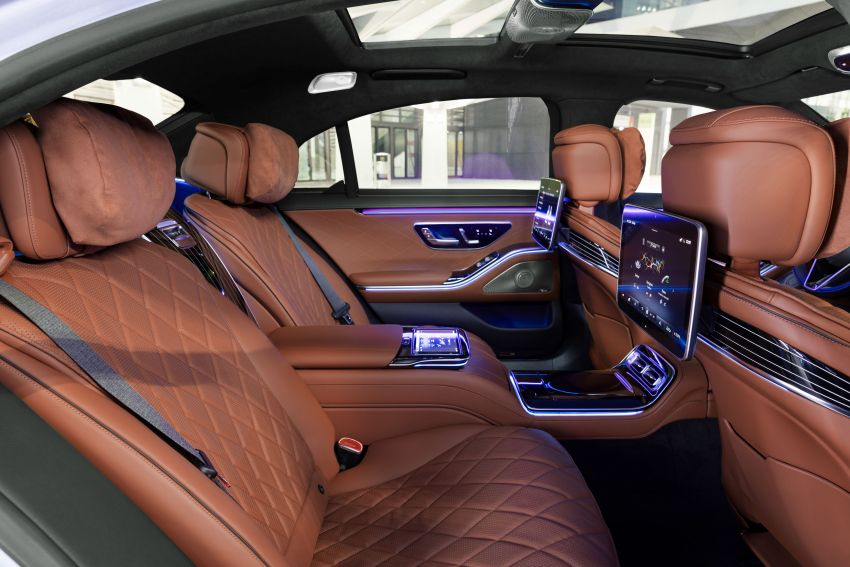 2021 Mercedes-Benz S-Class revealed – W223 to get certified Level 3 semi-autonomous driving next year Image #1170148
