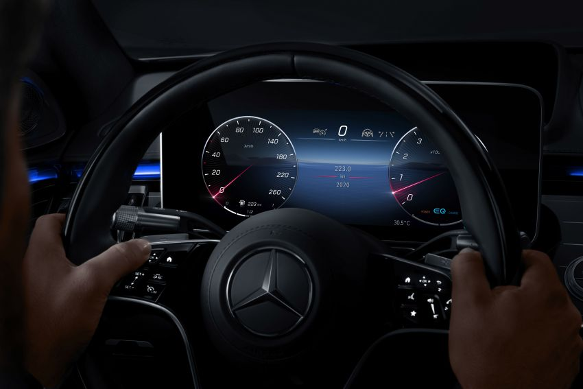 2021 Mercedes-Benz S-Class revealed – W223 to get certified Level 3 semi-autonomous driving next year Image #1170508