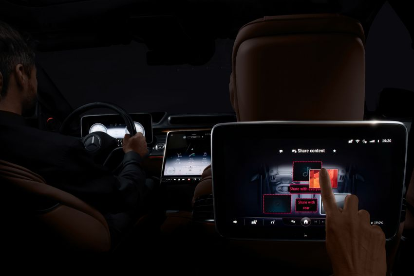2021 Mercedes-Benz S-Class revealed – W223 to get certified Level 3 semi-autonomous driving next year Image #1170510