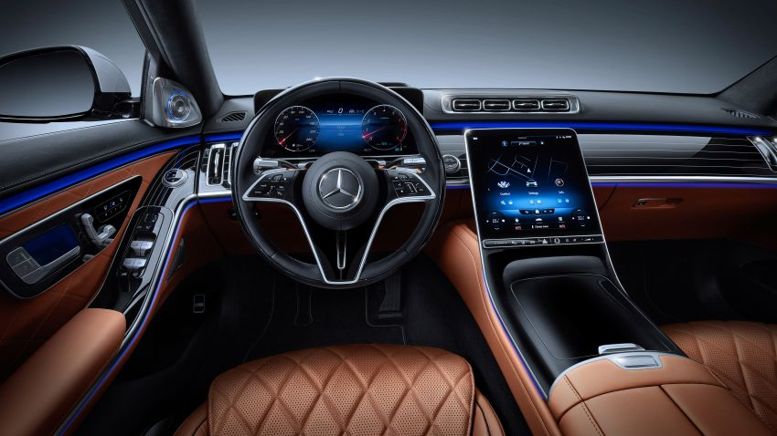 2021 Mercedes-Benz S-Class revealed – W223 to get certified Level 3 semi-autonomous driving next year Image #1170513