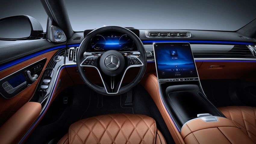 2021 Mercedes-Benz S-Class revealed – W223 to get certified Level 3 semi-autonomous driving next year Image #1170515