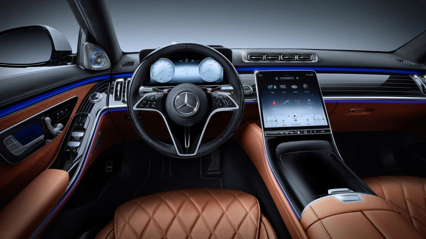2021 Mercedes-Benz S-Class revealed – W223 to get certified Level 3 semi-autonomous driving next year Image #1170517
