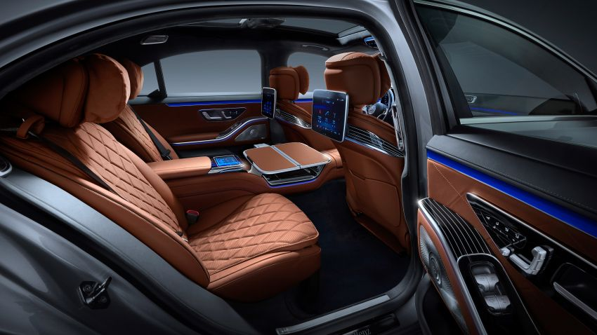 2021 Mercedes-Benz S-Class revealed – W223 to get certified Level 3 semi-autonomous driving next year Image #1170518