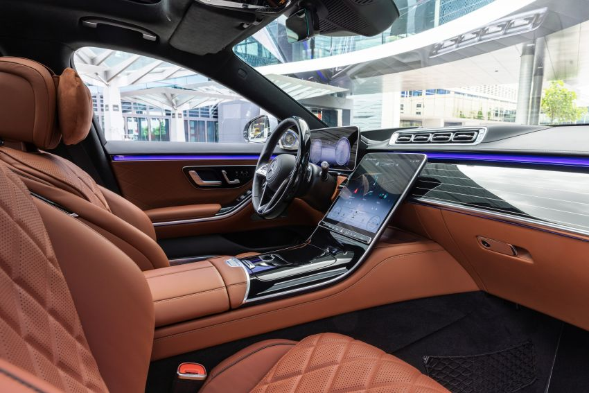 2021 Mercedes-Benz S-Class revealed – W223 to get certified Level 3 semi-autonomous driving next year Image #1170522