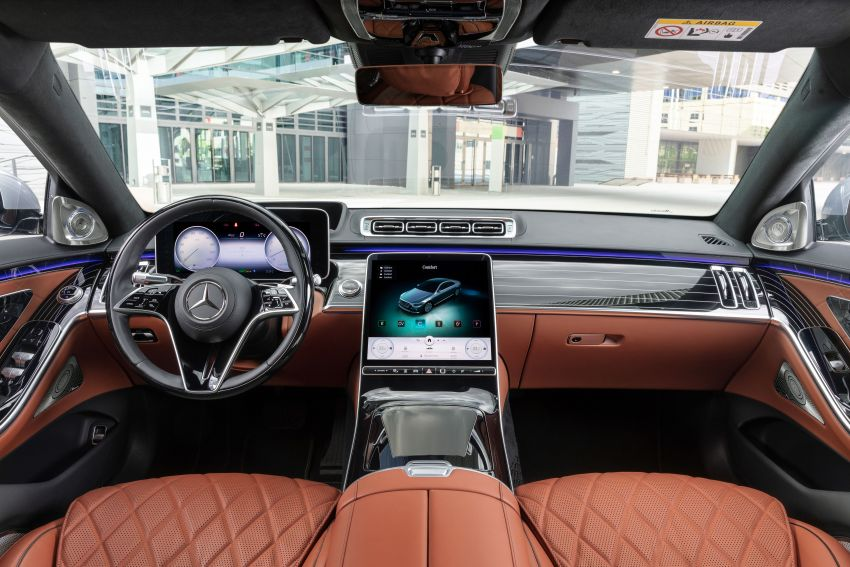 2021 Mercedes-Benz S-Class revealed – W223 to get certified Level 3 semi-autonomous driving next year Image #1170526