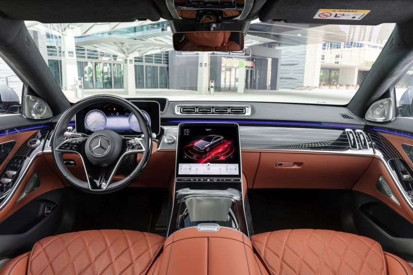 2021 Mercedes-Benz S-Class revealed – W223 to get certified Level 3 semi-autonomous driving next year Image #1170531
