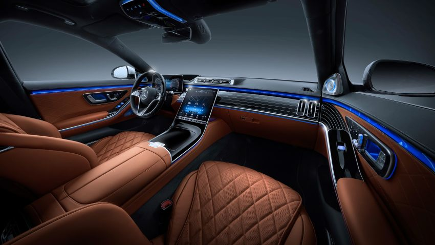 2021 Mercedes-Benz S-Class revealed – W223 to get certified Level 3 semi-autonomous driving next year Image #1170490