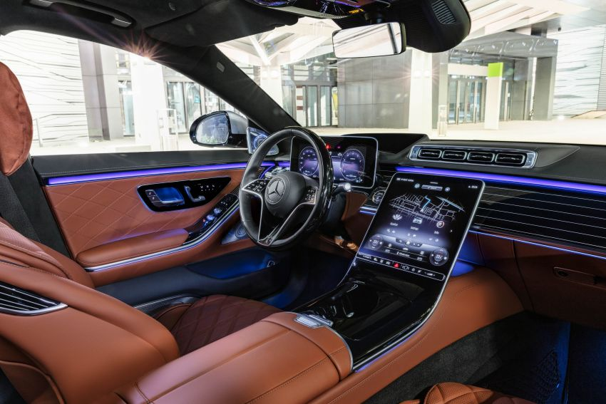 2021 Mercedes-Benz S-Class revealed – W223 to get certified Level 3 semi-autonomous driving next year Image #1170150