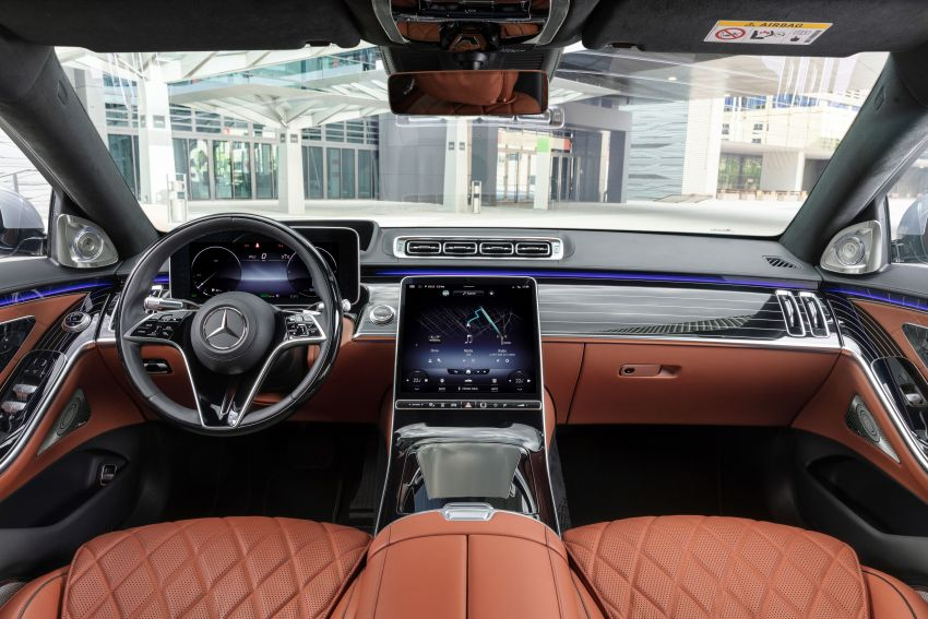 2021 Mercedes-Benz S-Class revealed – W223 to get certified Level 3 semi-autonomous driving next year Image #1170534