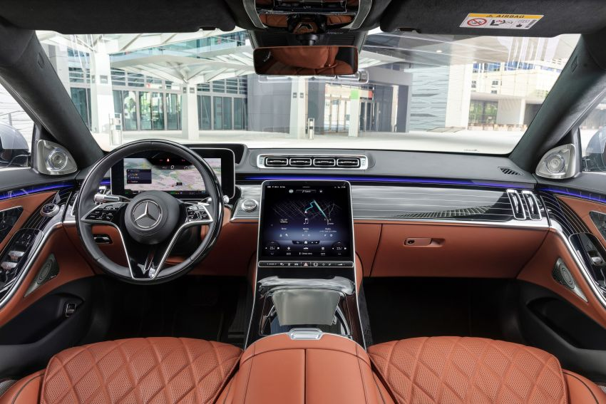 2021 Mercedes-Benz S-Class revealed – W223 to get certified Level 3 semi-autonomous driving next year Image #1170538