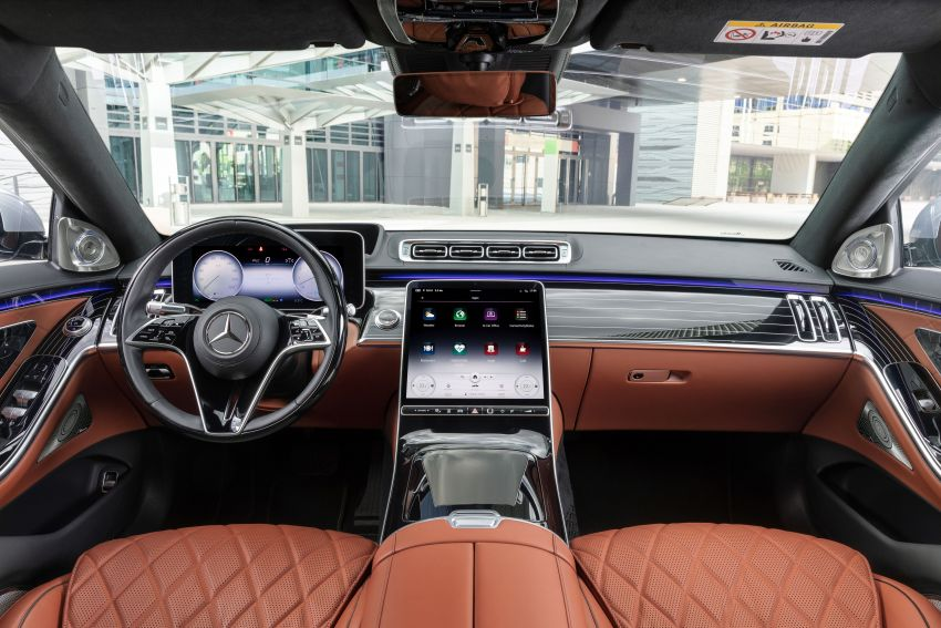 2021 Mercedes-Benz S-Class revealed – W223 to get certified Level 3 semi-autonomous driving next year Image #1170539
