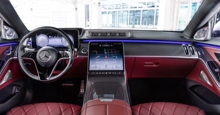 2021 Mercedes-Benz S-Class revealed – W223 to get certified Level 3 semi-autonomous driving next year Image #1170544