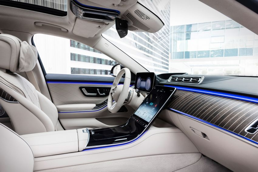 2021 Mercedes-Benz S-Class revealed – W223 to get certified Level 3 semi-autonomous driving next year Image #1170546