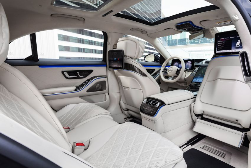 2021 Mercedes-Benz S-Class revealed – W223 to get certified Level 3 semi-autonomous driving next year Image #1170548