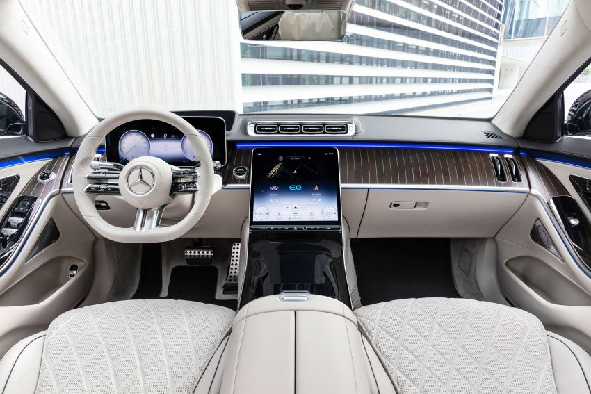 2021 Mercedes-Benz S-Class revealed – W223 to get certified Level 3 semi-autonomous driving next year Image #1170485
