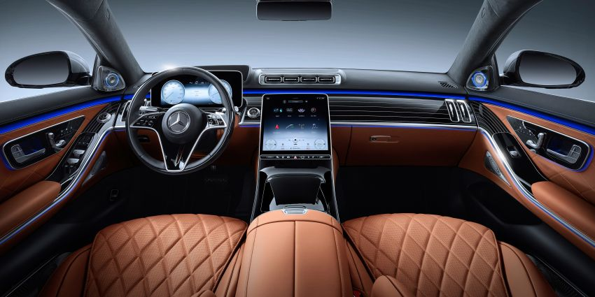 2021 Mercedes-Benz S-Class revealed – W223 to get certified Level 3 semi-autonomous driving next year Image #1170492