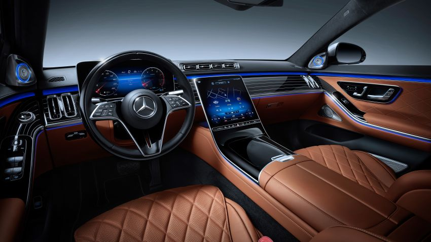 2021 Mercedes-Benz S-Class revealed – W223 to get certified Level 3 semi-autonomous driving next year Image #1170493