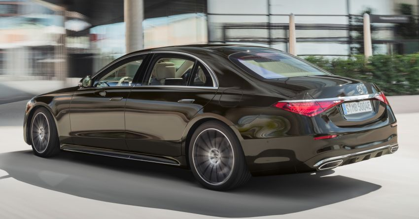 2021 Mercedes-Benz S-Class revealed – W223 to get certified Level 3 semi-autonomous driving next year Image #1170453