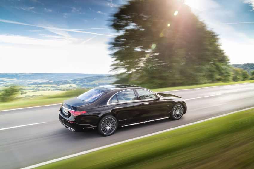 2021 Mercedes-Benz S-Class revealed – W223 to get certified Level 3 semi-autonomous driving next year Image #1170466