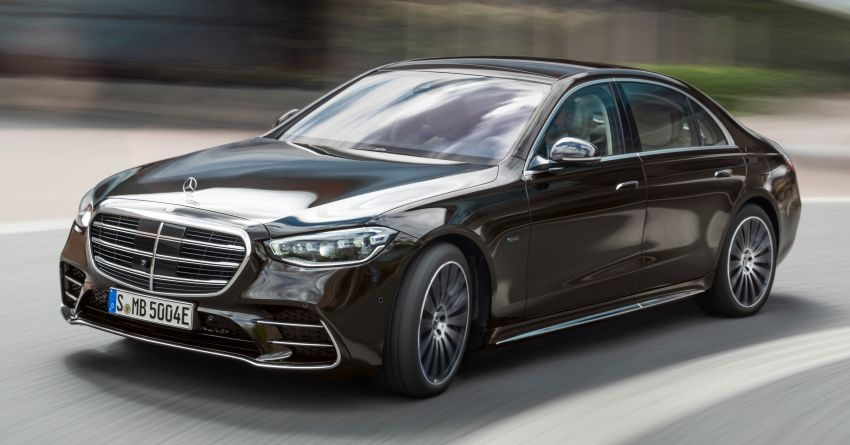 2021 Mercedes-Benz S-Class revealed – W223 to get certified Level 3 semi-autonomous driving next year Image #1170447