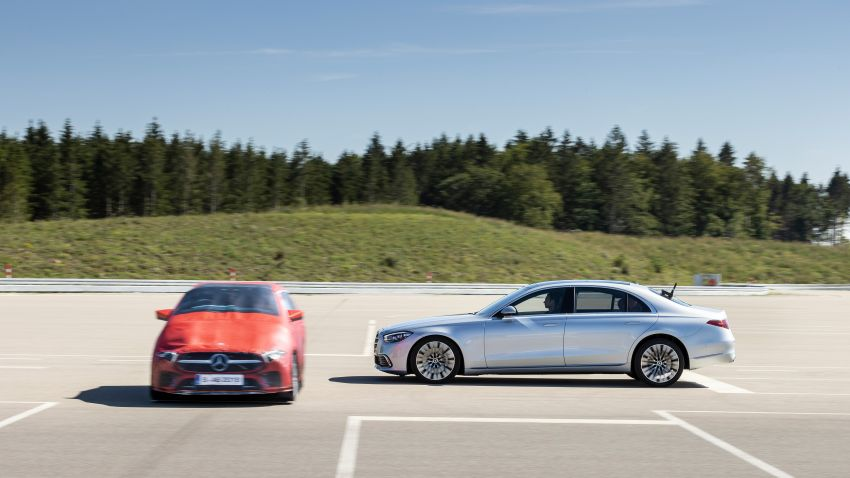 2021 Mercedes-Benz S-Class revealed – W223 to get certified Level 3 semi-autonomous driving next year Image #1170570