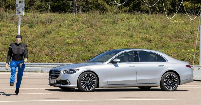 2021 Mercedes-Benz S-Class revealed – W223 to get certified Level 3 semi-autonomous driving next year Image #1170573