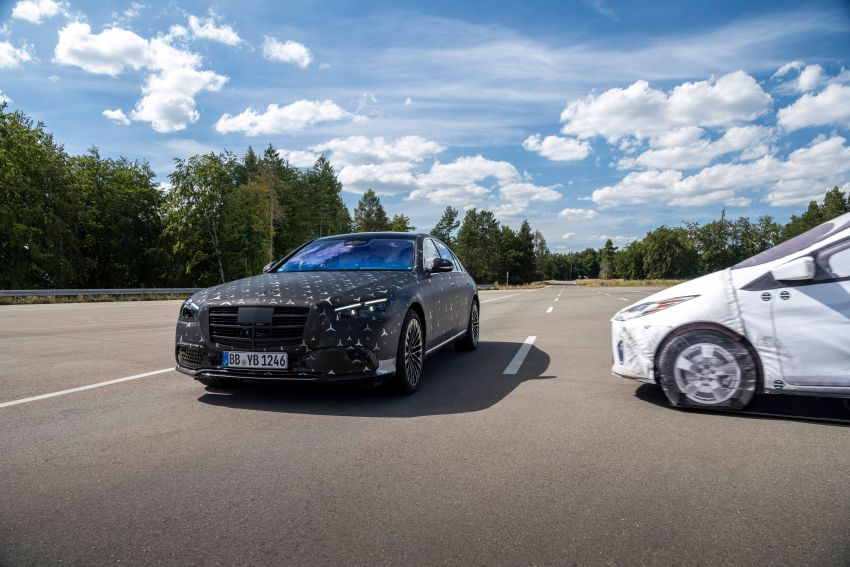 2021 Mercedes-Benz S-Class revealed – W223 to get certified Level 3 semi-autonomous driving next year Image #1170586