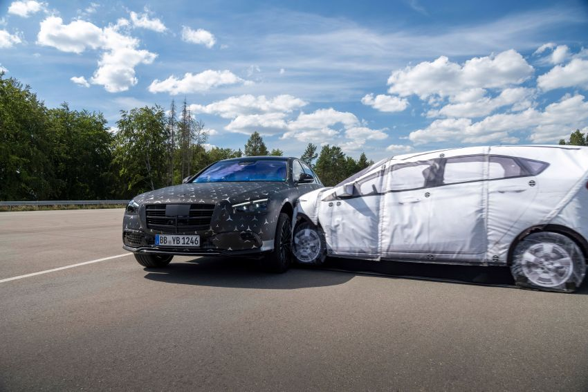 2021 Mercedes-Benz S-Class revealed – W223 to get certified Level 3 semi-autonomous driving next year Image #1170588