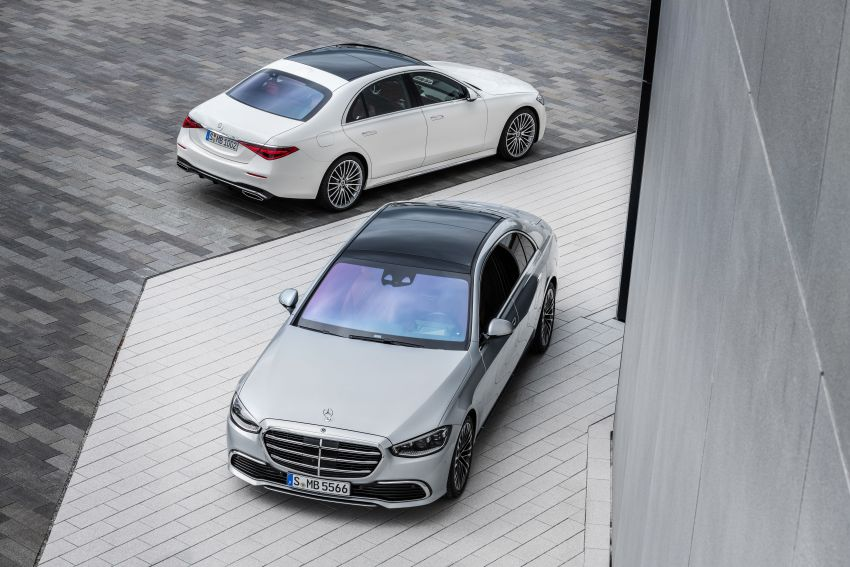 2021 Mercedes-Benz S-Class revealed – W223 to get certified Level 3 semi-autonomous driving next year Image #1170387
