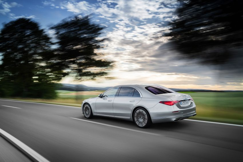 2021 Mercedes-Benz S-Class revealed – W223 to get certified Level 3 semi-autonomous driving next year Image #1170393