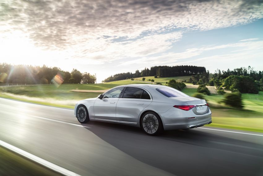 2021 Mercedes-Benz S-Class revealed – W223 to get certified Level 3 semi-autonomous driving next year Image #1170396
