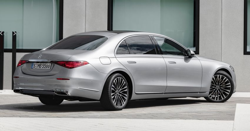 2021 Mercedes-Benz S-Class revealed – W223 to get certified Level 3 semi-autonomous driving next year Image #1170381