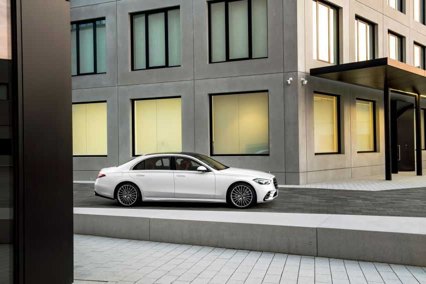 2021 Mercedes-Benz S-Class revealed – W223 to get certified Level 3 semi-autonomous driving next year Image #1170478