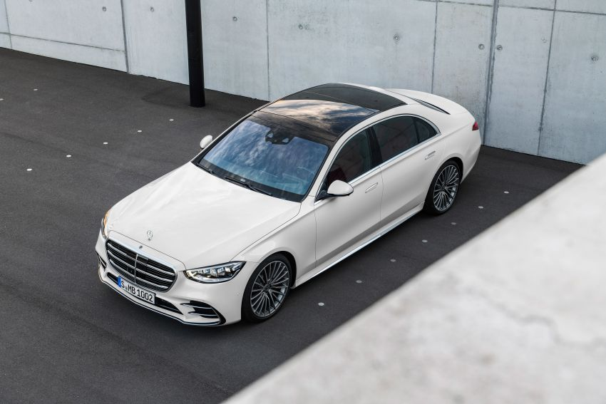 2021 Mercedes-Benz S-Class revealed – W223 to get certified Level 3 semi-autonomous driving next year Image #1170400